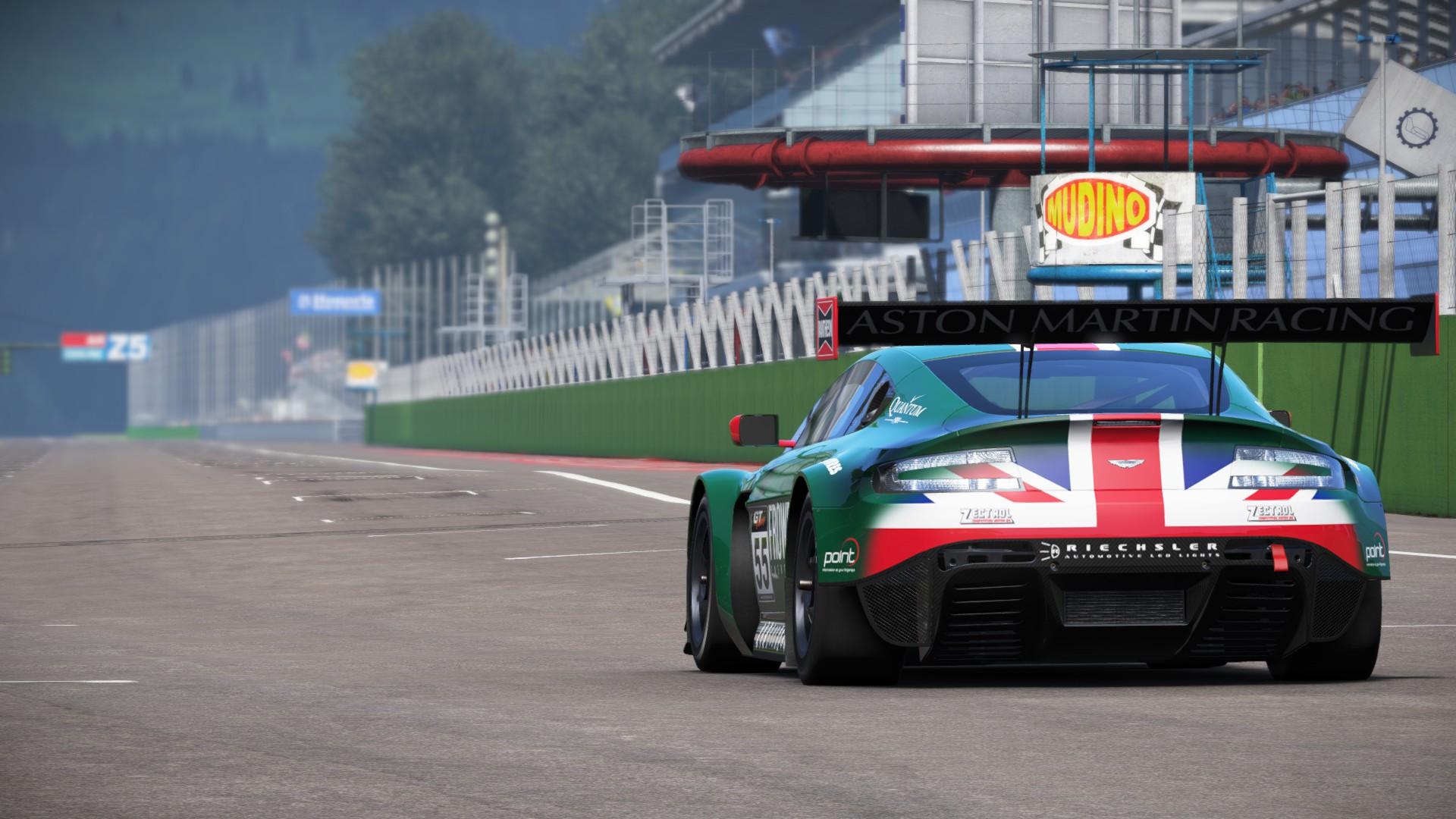 Aston in Italy