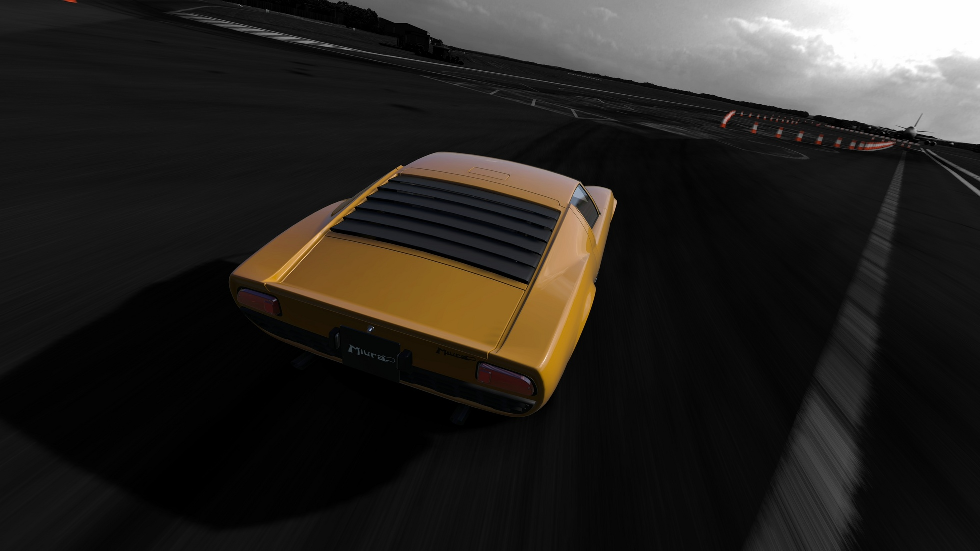 Miura - Top Gear Test Track