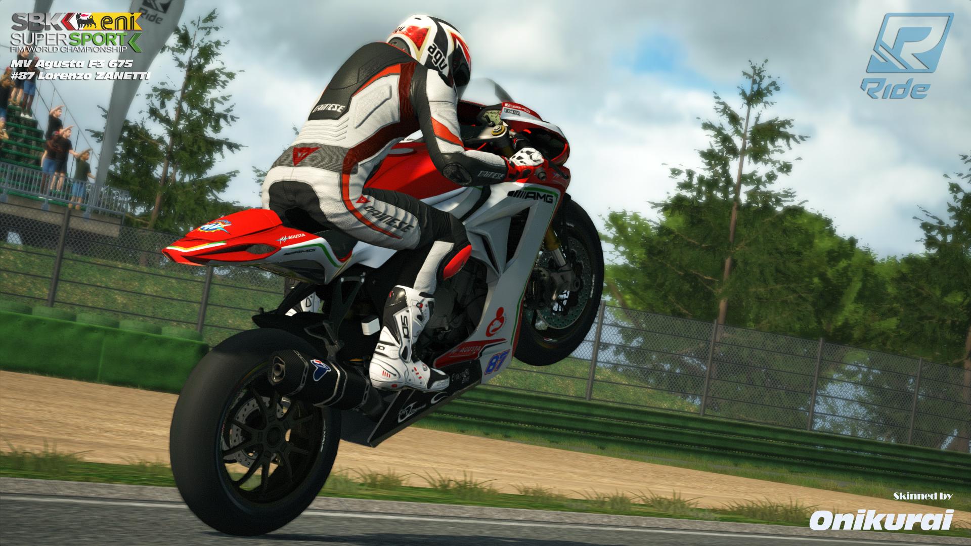 Ride #87 MV F3 675 Zanetti