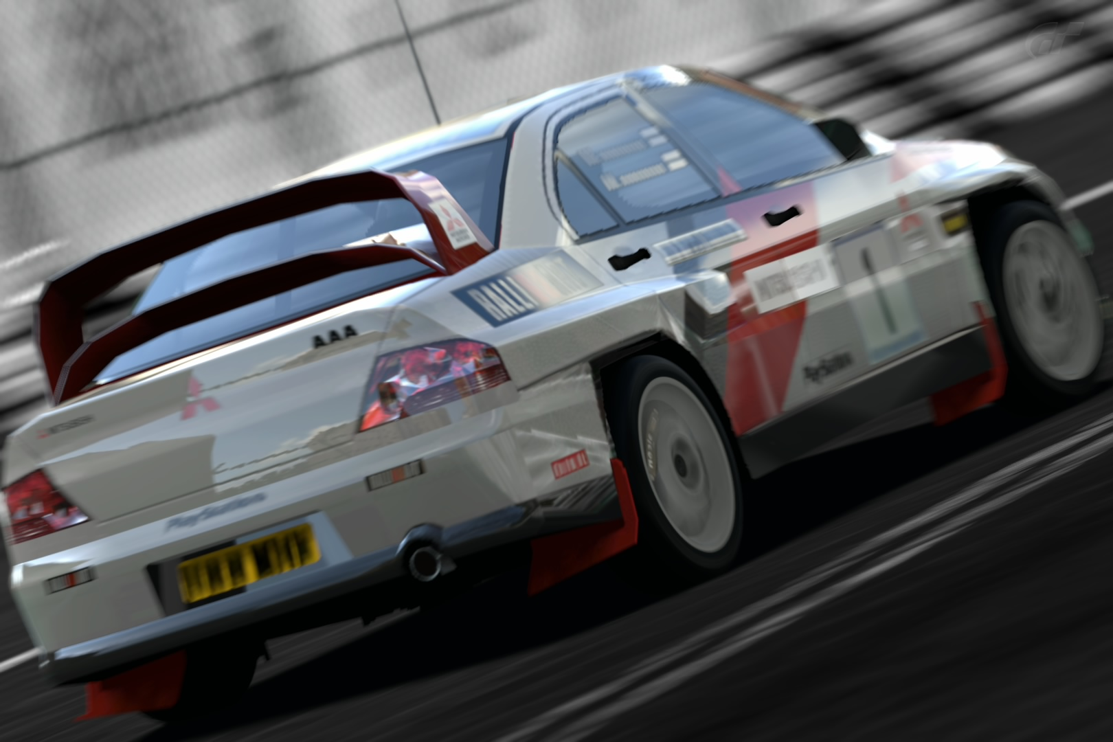 Mitsubishi Lancer Evolution WRC - by Riki