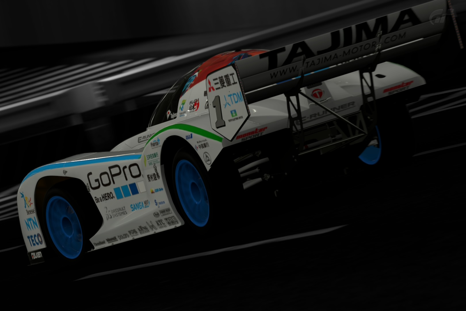 Tajima Monster Sport E-RUNNER WRC - by Riki