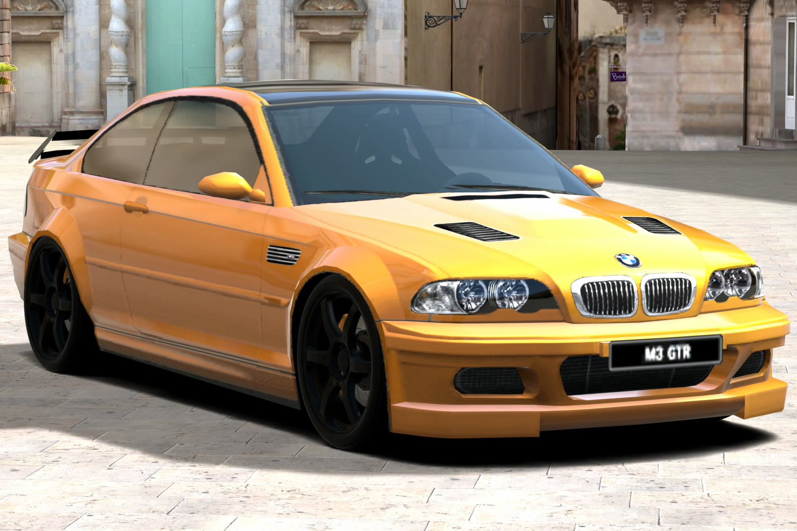 BMW M3 GTR by Riki