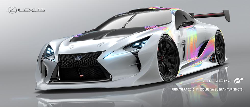 """Presentata la LEXUS LF-LC GT """"Vision Gran Turismo"""""""